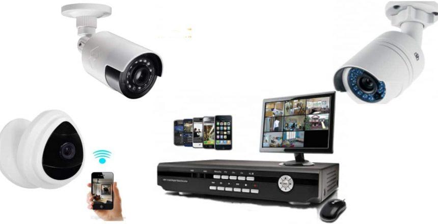 كيفية تركيب كاميرات المراقبة