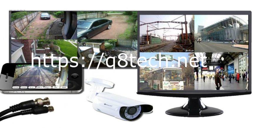 شاشة كاميرات مراقبة للبيع