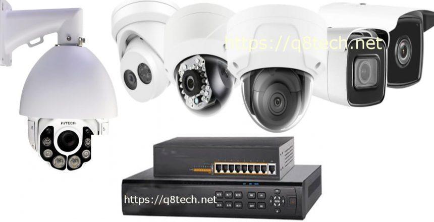 كاميرات المراقبة تفصل